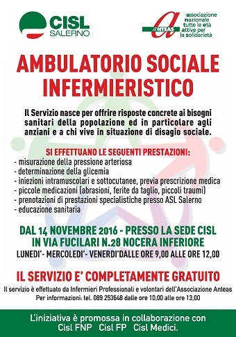 ambulatorio sociale infermieristico